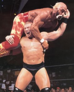 Brock Lesnar vs Hulk Hogan